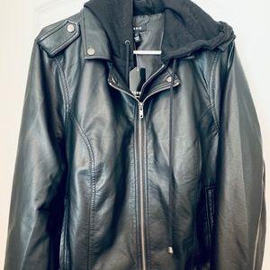 Torrid Faux leather Double Layer Moto Jacket